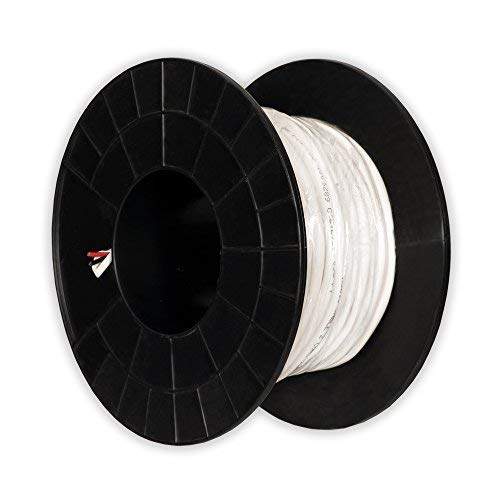 Theater Solutions C100-16-2 CL3 Rated Speaker Wire 2 Conductor 16 Gauge 100 Feet Roll UL Listed (Conductor Patio De)
