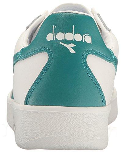 Diadora Mens B.elite Sneaker Bianco / Blu Porto