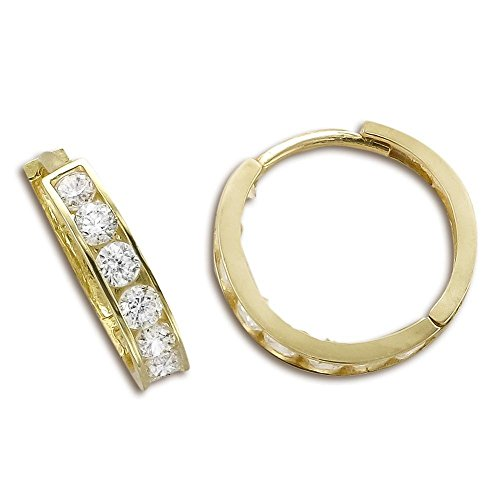14kt Yellow Gold Cubic Zirconi