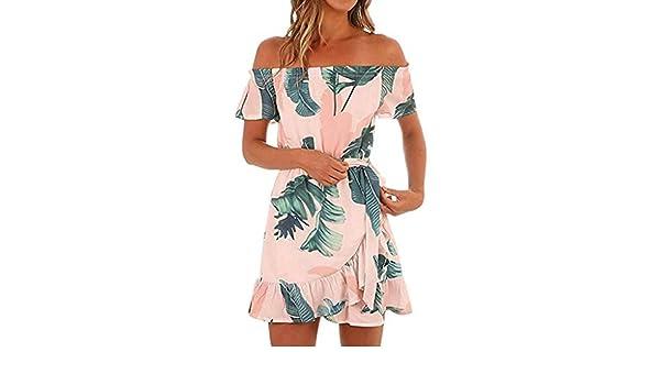 562fe4496 Vestido de Playa Mujer🏵Yusealia🏵Vestidos de Fiesta Mujer Cortos ...