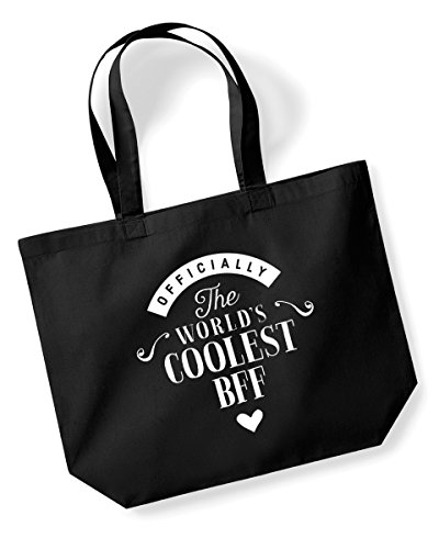 BFF Birthday Gift or Christmas Gift Bag Tote Shopping Bag Birthday Gift Present Gifts For Women Worlds Coolest BFF (Black) - Buy Online in Oman.  sc 1 st  Desertcart Oman & BFF Birthday Gift or Christmas Gift Bag Tote Shopping Bag ...