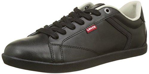 Regular Levi's Noir Schwarz Loch Herren Black Sneaker Derby vqfzvw