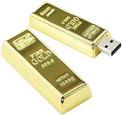 32GB De Metal de Diamante de Oro Modelo Disco Flash USB ...