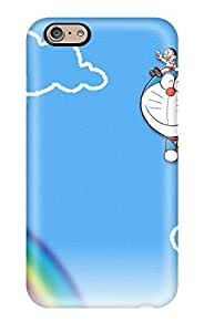 Anti-scratch And Shatterproof Doraemon Phone Case For Iphone 6/ High Quality Tpu Case