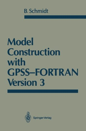 Model Construction with GPSS-FORTRAN Version 3 by Brand: Springer
