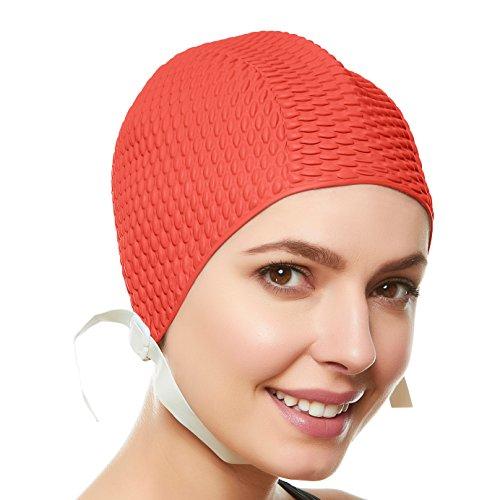 Beemo Swim Bathing Caps For Women Or Girls Retro Style
