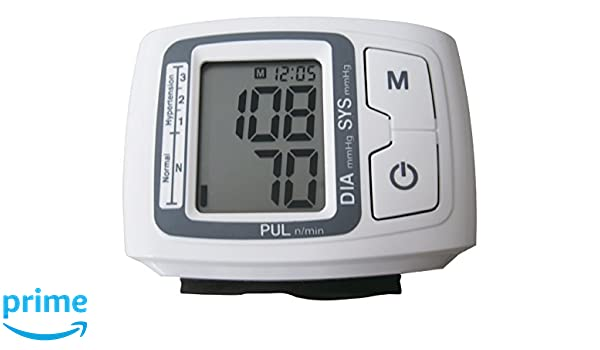L B S Medical - Tensiómetro automático para muñeca: Amazon.es: Salud y cuidado personal