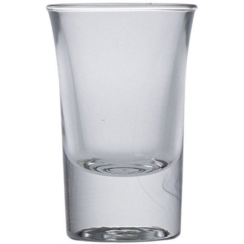 Flared Glass Shot Shooter (Cardinal 21554 Arcoroc 1.25 oz Hot Shot Glass - 24 / CS)