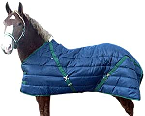 High Spirit Snuggie Large Horse Stable Blanket, 88-Inch