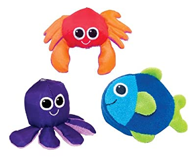Sassy Soft Swimmers Animal Characters Bath Toy 3 Pack by Sassy