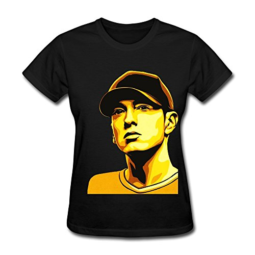 Wei-JR Women's Eminem T-shirt Size XS Black