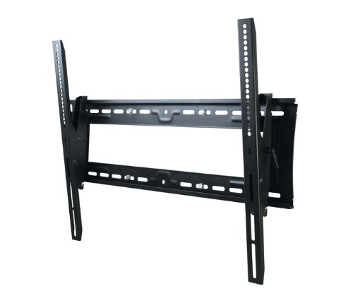 (Atdec TH-3070-UT Heavy Duty Tilt Adjustable Wall Mount with Lockable Security Bar for Displays up to 200-Pound, Black)