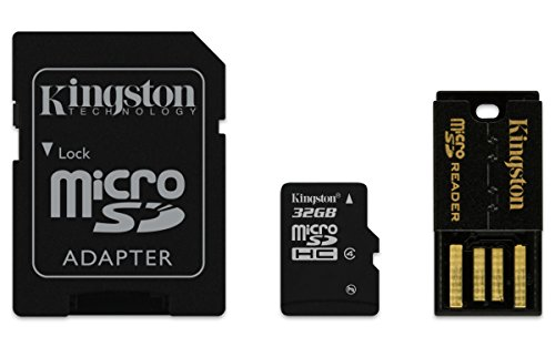 Kingston Digital Multi-Kit/Mobility Kit 32 GB Flash Memory Card Reader, MBLY4G2/32GB