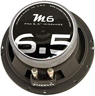 Massive Audio MB6C 6.5in 150W RMS 8Ohm Pro Audio Midrange Speaker