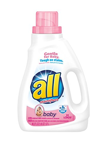 All Baby Liquid Laundry Detergent  46 5 Fluid Ounces  31 Loads