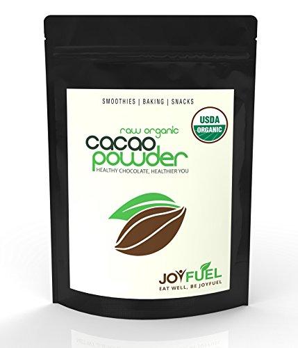 Prime biologique Raw Cacao / poudre de cacao, chocolat noir riche Goût - £ 1 / sac de 16 oz