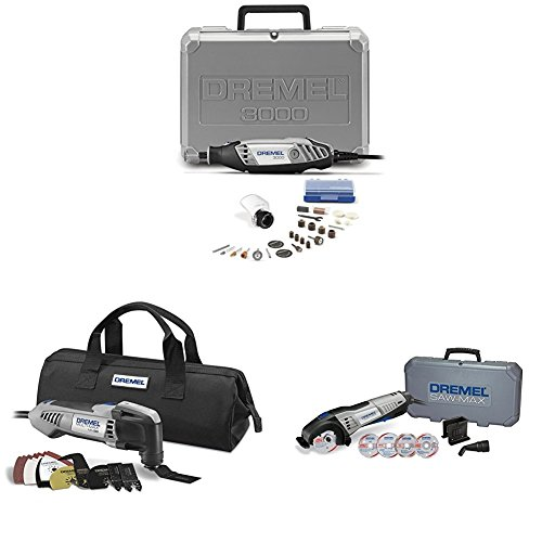 Dremel 3-tool Combo Kit with Accessories by Dremel