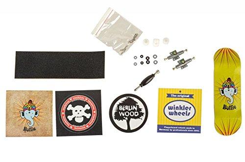 Bollie Mini Logo Fingerboard Completo SizeMap L: Amazon.es: Deportes y aire libre