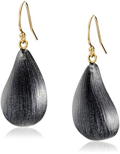 Alexis Bittar Fall 2017 Dew Black Drop Earrings