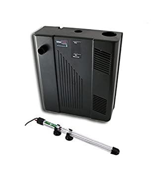Jad - Filtro multifunción Bio-Filter BF-108, con calentador - Filtro biológico interno para acuario, incluye bomba, esponja, carbón y canutillos: Amazon.es: ...