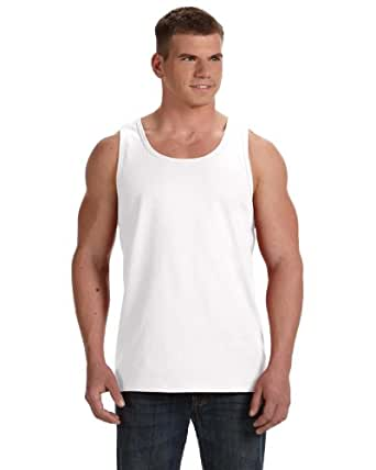Fruit of the Loom Men's 4Pack White A-Shirts Tank Tops Tanks Undershirts 3XL