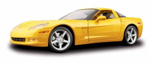 2005 Chevrolet Corvette C6 Coupe (Maisto 1/18 '05 Corvette C6 Coupe Yellow)
