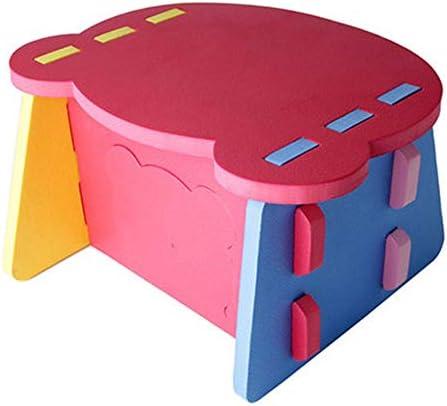 子供用学習机椅子セット ホーム&ガーデン幼稚園衝突小さなテーブルのアクティビティ表を、ダイニング赤ちゃんプレイ 学習机セット (Color : Multi-colored, Size : Free size)