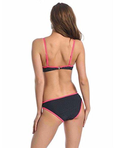pengweiMujer de moda del bikini traje de baño triángulo pieza del traje de baño del balneario 2