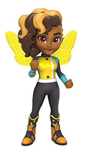 Funko Girls Rock Candy: DC Super Hero-Bumble Bee Action (Superhero Costumes Brooklyn)
