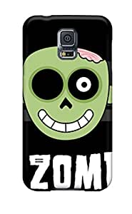 Premium MYQqfxd7540rgHaW Case With Scratch-resistant/ I Love Zombies Case Cover For Galaxy S5