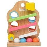 木のおもちゃ ベビー Laby ラビー ツリースロープ 天然木製おもちゃ LA-003