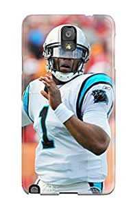 New Arrival Case Specially Design For Galaxy Note 3 (carolina Panthers )
