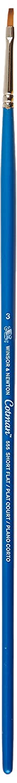 Rund Pinsel Legno Trasparente Winsor /& Newton/ kurzer Stiel Nr 0000-0,9 mm /Pennello