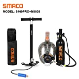 SMACO Scuba Tank & Snorkel Mask Diving Gear for