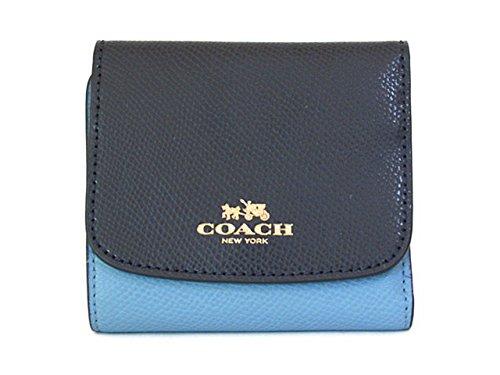 finest selection 87ffb 96b22 Amazon   Coach コーチ 折りたたみ財布 カラーブロック クロス ...