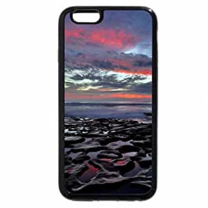 iPhone 6S Plus Case, iPhone 6 Plus Case, Sunset on La Jolla Beach, San Diego, Ca