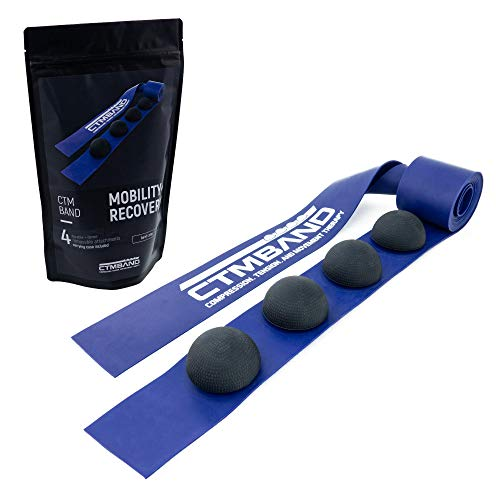 New First-of-Its-Kind Tool | Muscle Floss Band w/Trigger Point Massage Balls | Great for Mobility &...