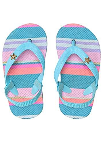 Snapper Rock Kids' Flip Flop Tutti Frutti Stripe ()