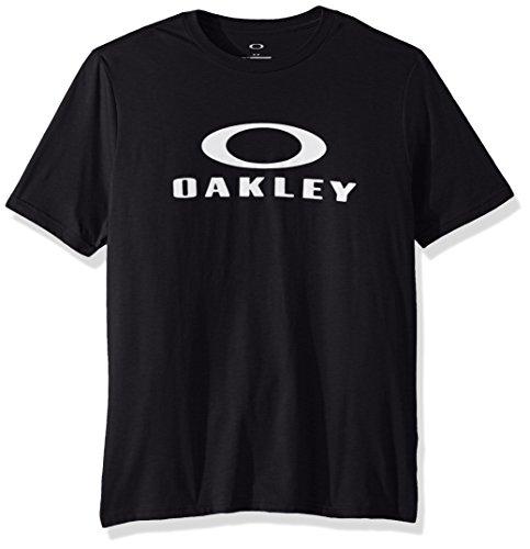Oakley Men's 50 Bark Ellipse Tee, Blackout, ()