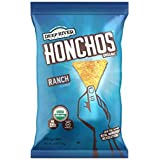 HONCHOS Ranch Tortilla Chips, Organic, 5 Ounce (Pack of 12)