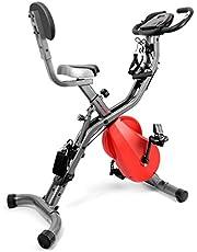 Ultrasport, professionele hometrainer, fietstrainer, ergometer, fitnessfiets met trainingscomputer en hartslagsensoren, spinning bike, hometrainer met Bluetooth
