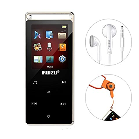 Eleston Digital Music Player Compact and Portable 8 GB MP3 Player with 1.8inches Colorful Screen, Hifi Lossless Sound Alloy Metal Body with Voice (Jogging Mp3 Player Bluetooth)