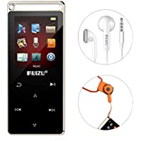 Eleston Digital Music Player Compact and Portable 8 GB MP3 Player with 1.8inches Colorful Screen, Hifi Lossless Sound Alloy Metal Body with Voice Recorder/Pedometer