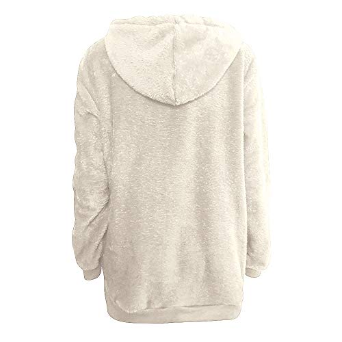 Polaire Blanc Courte Femme Sweats Chandail 46 Pull Capuche Pullover Capuche Grande Femme Sweatshirt 34 Taille Sweater 2 EU Sweats Hoodie GongzhuMM EqH4HwC