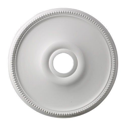Elk M1003 Brittany Ceiling Medallion, 19-Inch, White Finish ()