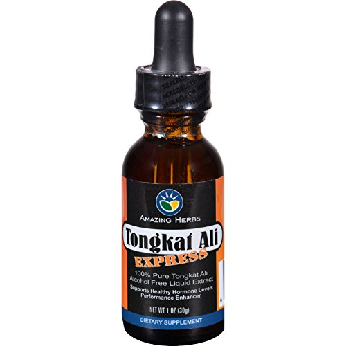 Black Seed Liquid Extract - Tongkat Ali Express - Alcohol Free - 1 oz (Pack of 2) ()