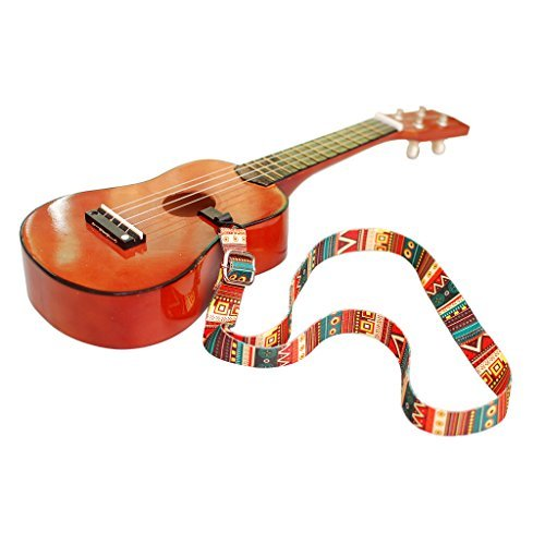 MUSIC FIRST Aztec Adjustable Ukulele