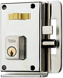 Yale 10CDHN Cerradura de Sobreponer, mano Derecha Entrada 45 mm ...