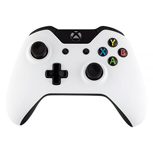 (eXtremeRate Front Housing Shell Faceplate and Left Right Panels for Xbox One Standard Controller - Soft Touch)
