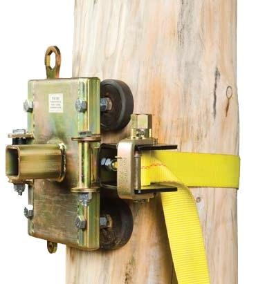 Portable Winch Mount (Portable Winch Co. PCA-1263 Tree / Pole Mount with Anchor Strap)